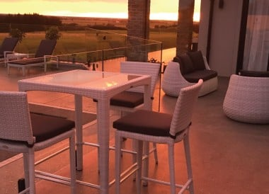 Outdoor Furniture with bar set