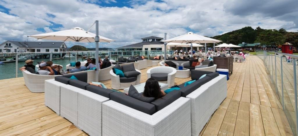 Alongside uses OceanWeave Outdoor Furniture