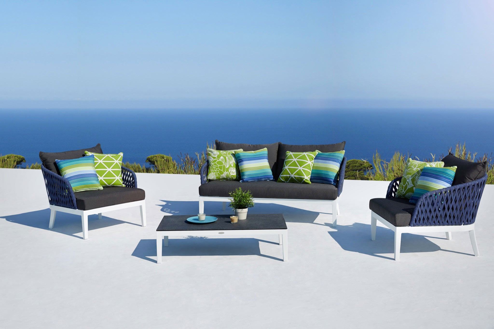 Buenos Outdoor Furniture Blue