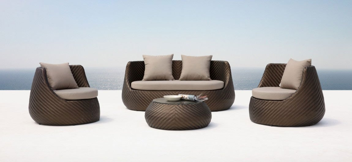 Casa Rattan Outdoor Furniture Bronze
