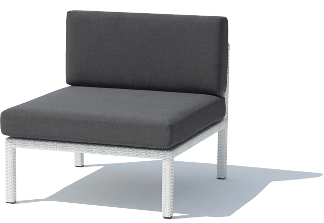 Florence Outdoor Wicker Middle Sofa