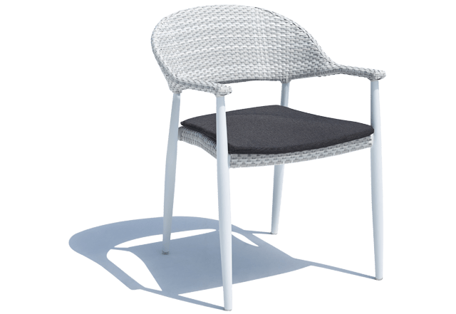 Rio Outdoor Dining Chair Grey