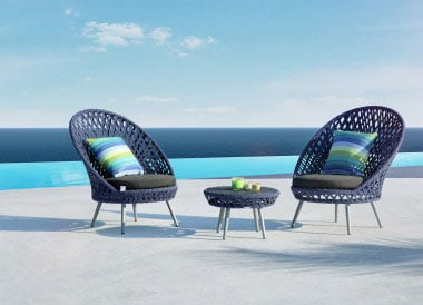 Siena Outdoor Furniture Blue
