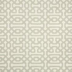 Sunbrella Outdoor Fabric 45991-0002 Fretwork Pewter