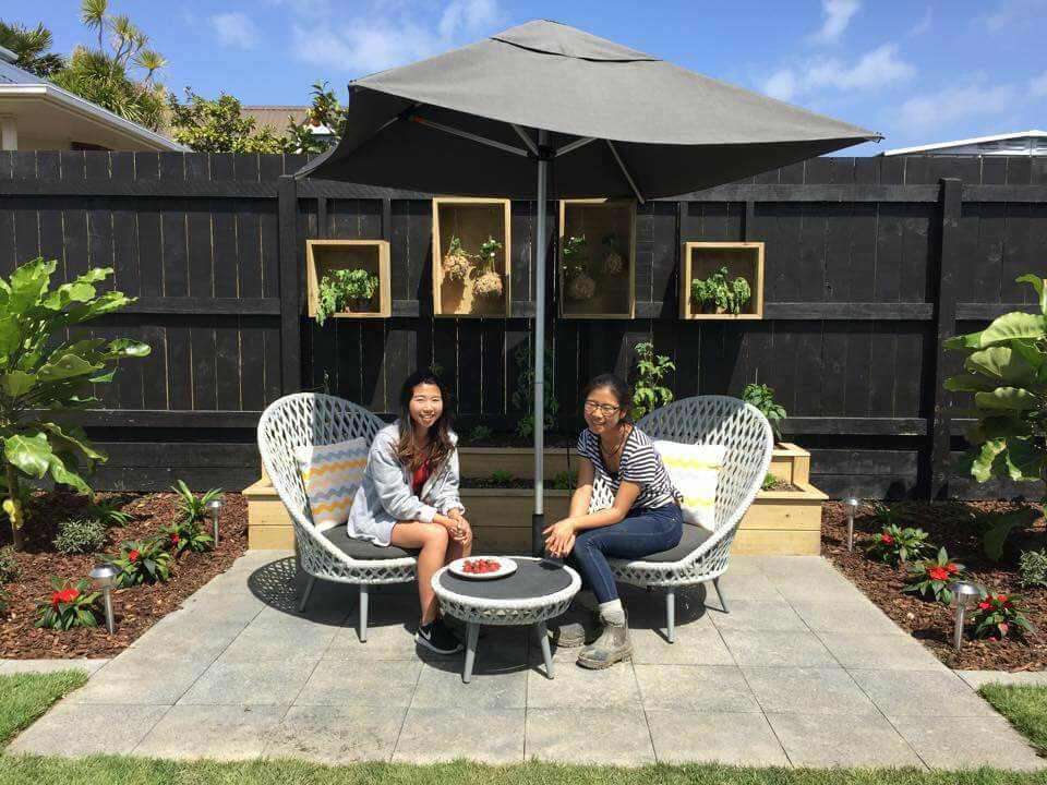 The Block NZ Villa Wars Sarah and Minanne OceanWeave Furniture