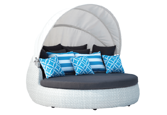 Rotating Day Bed Whitewash