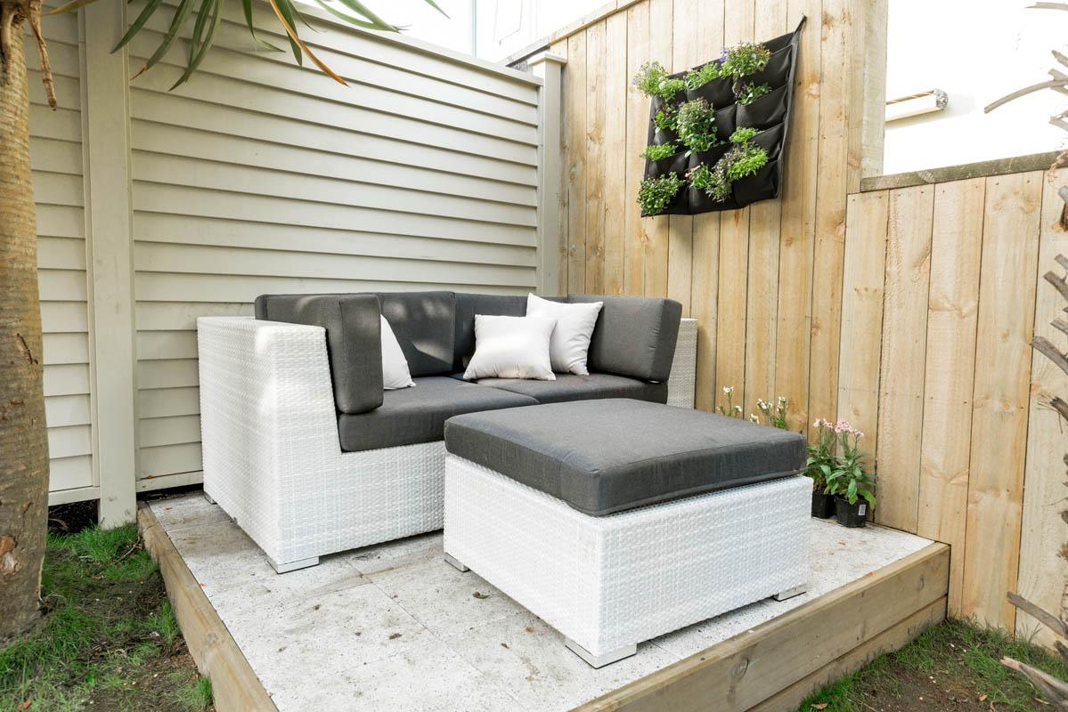 The Block Emma and Courtney OceanWeave Outdoor Furniture Prize