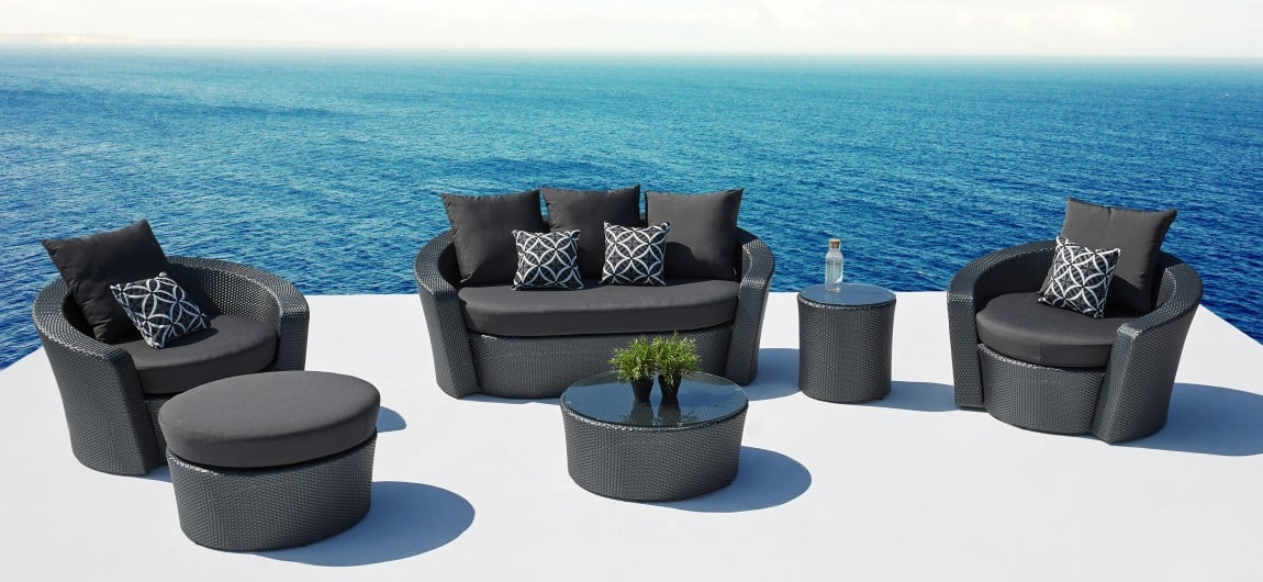 Barbados Outdoor Furniture Slate
