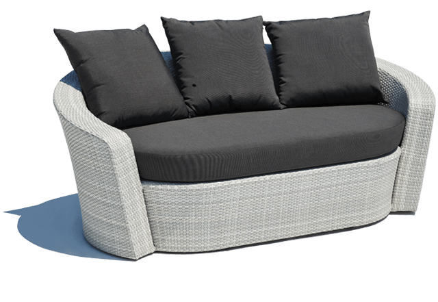 Barbados Outdoor Sofa White