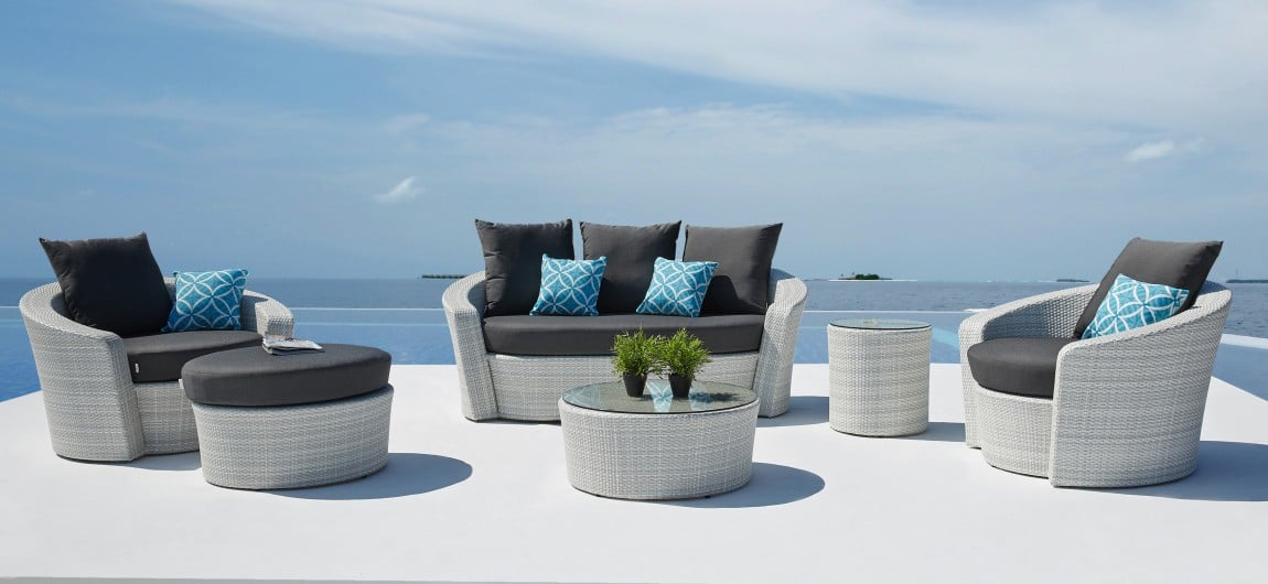 Barbados White Outdoor Furniture