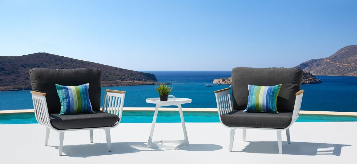 Sweden Outdoor Furniture White
