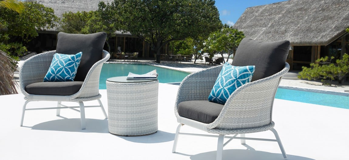 Vienna Outdoor Lounge Furniture White