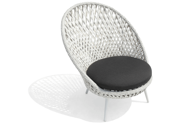 White Wicker Outdoor Furniture Siena