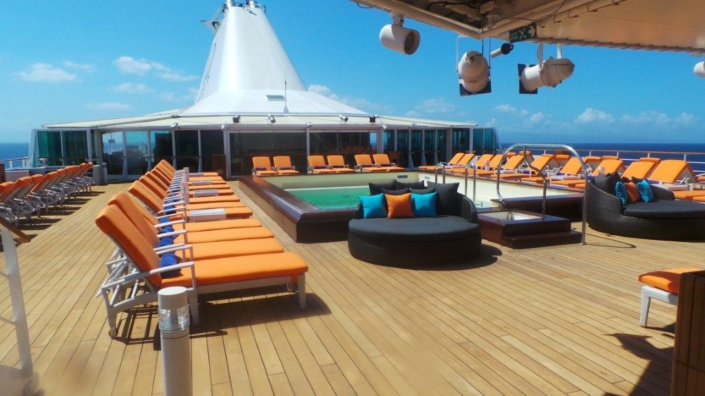 Marine Grade Outdoor Furniture Cruise Liner