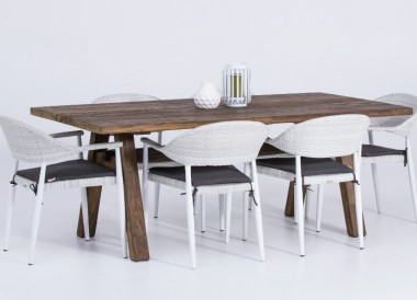 Wooden Teak Table 6 seater