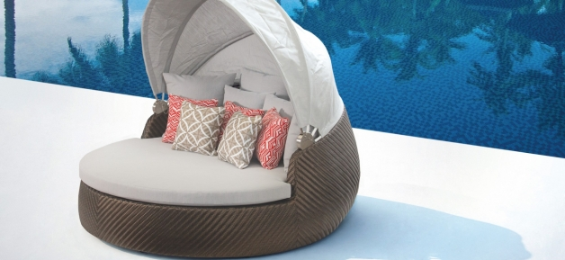 Bronze Outdoor Daybed