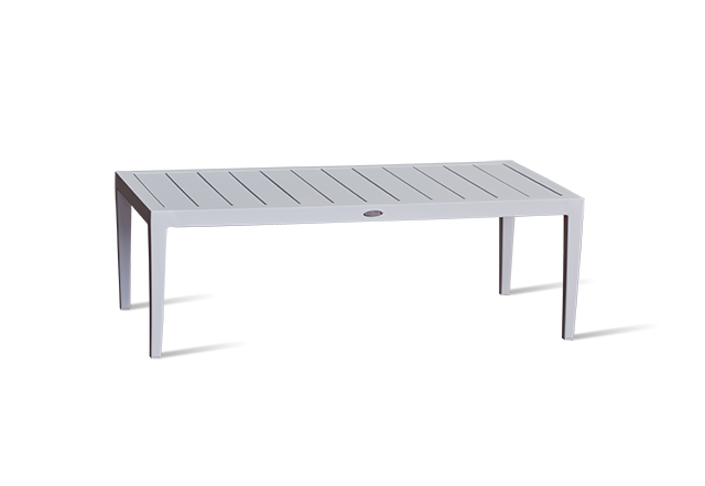 White Outdoor Coffee Table - Sweden